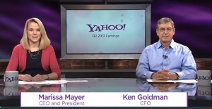 Yahoo Earnings Call